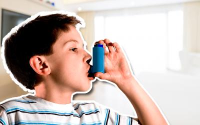 Asma infantil: ¿Qué es el asma infantil y cuándo podemos decir que un niño es asmático?
